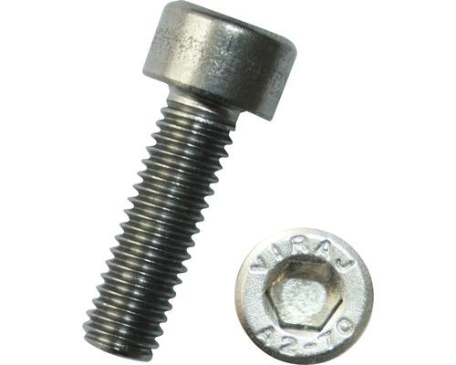 Zylinderschraube mit Innensechskant DIN 912 10x70 mm Edelstahl A2, 100 Stück