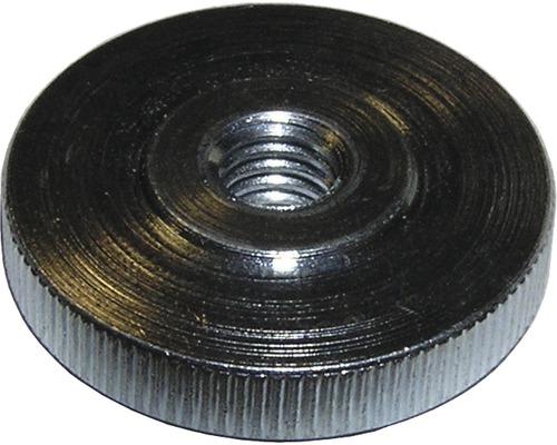 Rändelmutter flach DIN 467, M4 galv.verzinkt 50 Stück