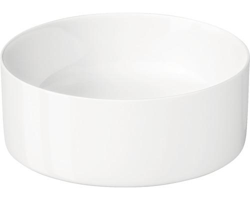 Aufsatzwaschbecken Cersanit Crea 38 cm weiß