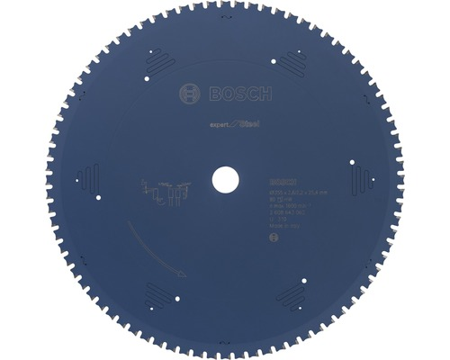 Kreissägeblatt Expert for Steel Ø 355x25,4 mm Z 80