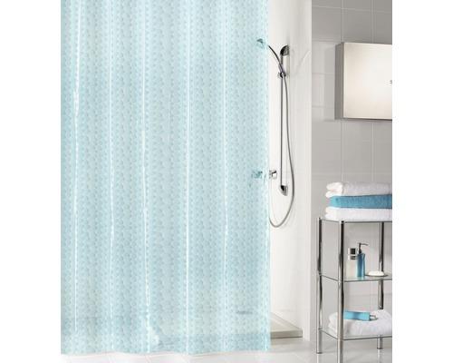 Duschvorhang Kleine Wolke Soapy wasserblau 180x200 cm