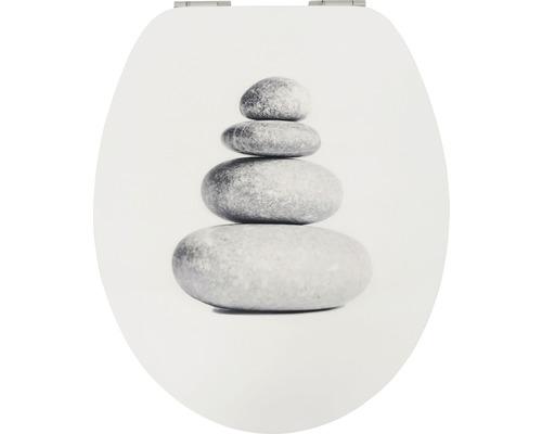 WC-Sitz Form & Style Stone Stack mit Absenkautomatik