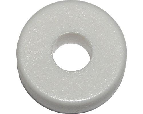 Abstandscheibe f.Nummernschild weiß, 100 Stück