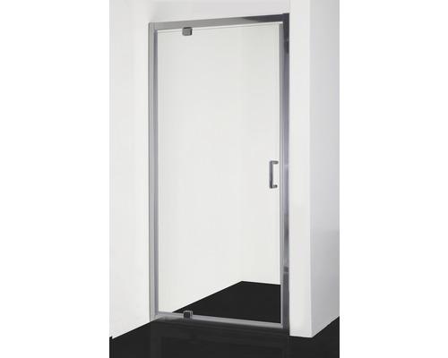 Schwenktüre für Seitenwand und Nische Sanotechnik Elite T80 800x1950 mm Echtglas Klar hell chrom