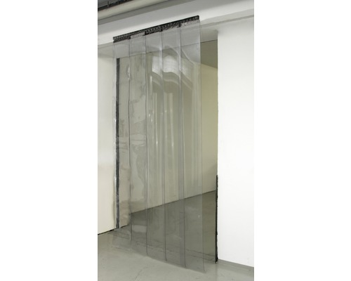 Vorhangset KERBL 300 300x3 mm, 225 cm transparent