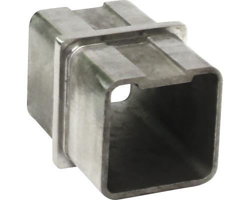 Rohrverbinder Edelstahl für 40x40 mm
