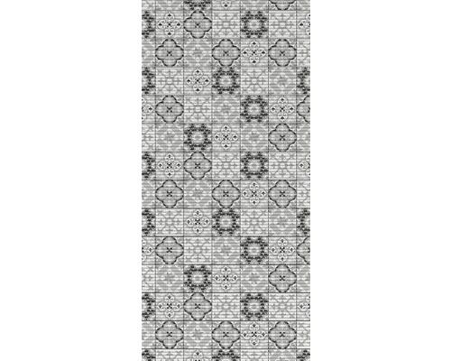 Anti-Rutsch-Matte Tile Antique schwarz 65x180 cm