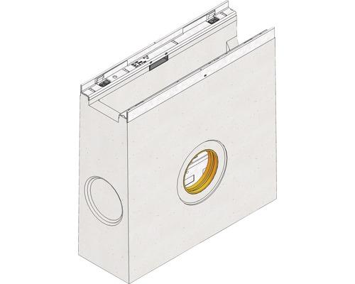 FASERFIX KS 100 Einlaufkasten mit verzinktem Eimer 500x160x500 mm