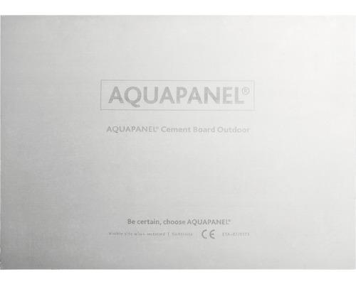 Zementbauplatte Knauf AQUAPANEL® 12,5x2500x1250 mm