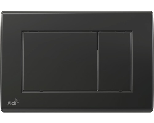 Betätigungsplatte Alca Plast M278 schwarz matt