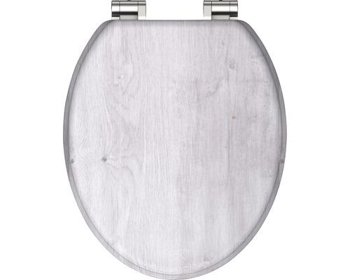 WC-Sitz Light wood holzoptik mit Absenkautomatik