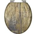 WC-Sitz Schütte Solid wood holzoptik mit Absenkautomatik
