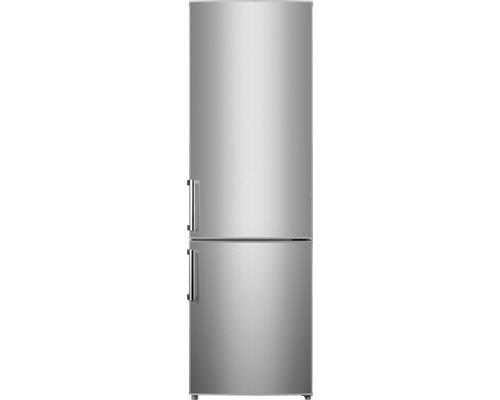 Kühl- und Gefrierkombination Wolkenstein KGK 180 A++ silber 55,4x180x55,8 cm