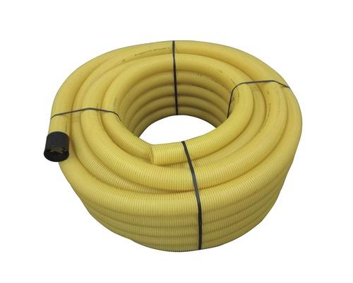Drainagerohr gelb geschlitzt NW 100 Länge 50 m