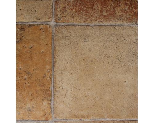 Fliesenoptik sand braun Meterware Gr/ö/ße: 1,5 x 2 m PVC Bodenbelag Steinoptik 200 300 und 400 cm Breite verschiedene Gr/ö/ßen