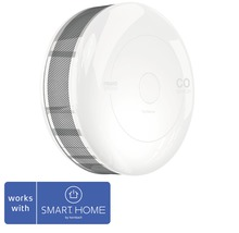 CO Melder Fibaro SMART HOME by hornbach weiß Ø 65 H 28 mm