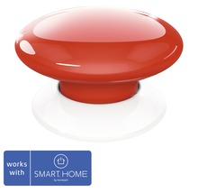 Fibaro Smart Button rot SMART HOME by hornbach
