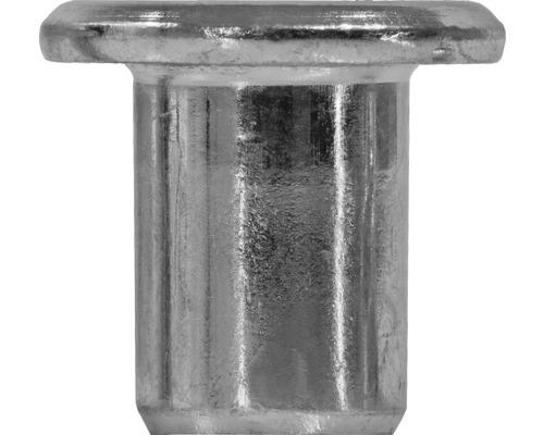 Hülsenmutter M6 Zylinderkopf verzinkt, 100 Stück