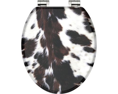 WC-Sitz Schütte Cow Skin 80126 mit Absenkautomatik