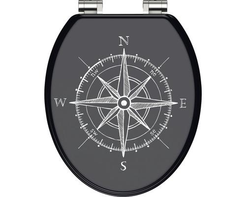 WC-Sitz Schütte Compass mit Absenkautomatik
