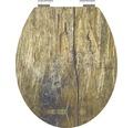 WC-Sitz Schütte Solid Wood mit Absenkautomatik