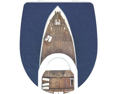 WC-Sitz Schütte Yachting mit Absenkautomatik