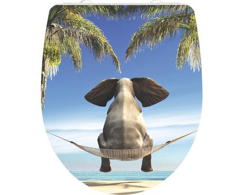 WC-Sitz Schütte Happy Elephant mit Absenkautomatik