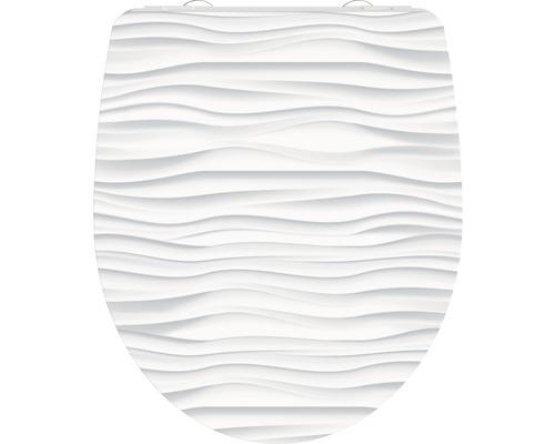 WC-Sitz Schütte White Wave mit Absenkautomatik