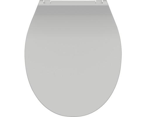WC-Sitz Schütte Slim Grey mit Absenkautomatik