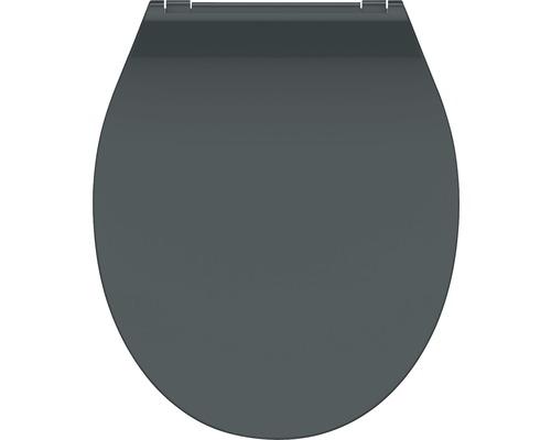 WC-Sitz Schütte Slim anthrazit mit Absenkautomatik