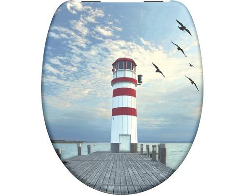WC-Sitz Schütte Lighthouse mit Absenkautomatik