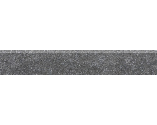 Sockelfliese UDINE schwarz 9,5x60 cm