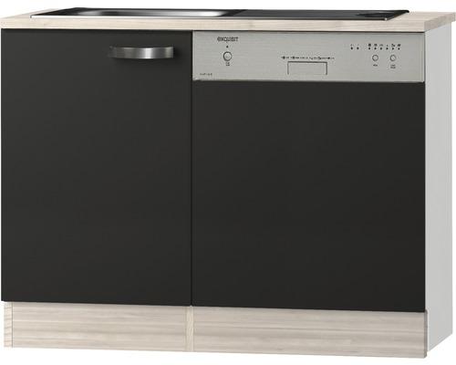 Spülenzentrum Optifit Faro anthrazit 110x84,8x60 cm