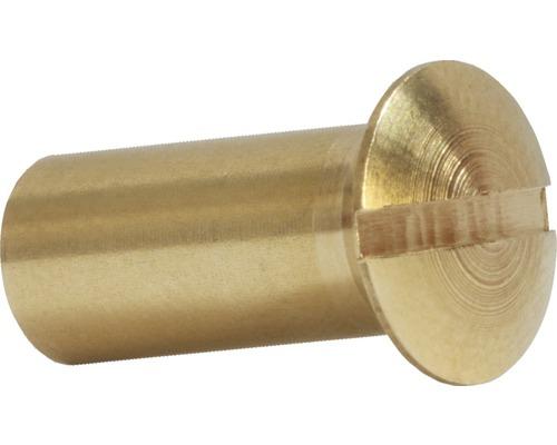 Hülsenmutter 4 mm Messing, 100 Stück