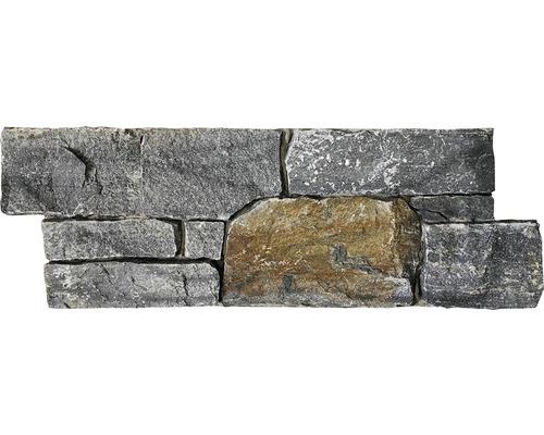 Naturstein-Nachbildung Verblendstein Val Gardena grau/braun 20x60 cm