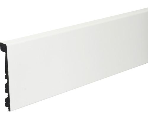 Sockelleiste KU123C PVC weiß 91x24x2400 mm