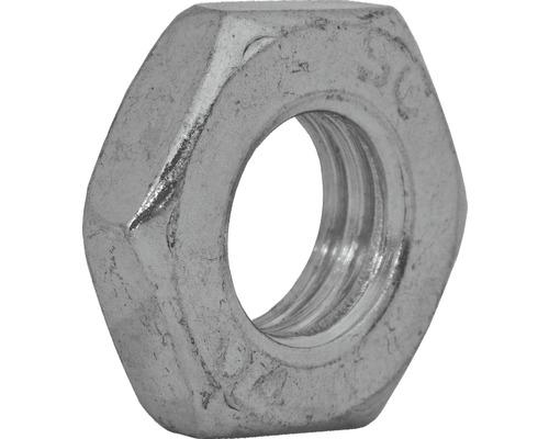 Mutter niedrige Form DIN 439, M12 galv.verzinkt 100 Stück
