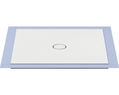 Bodengleiches Duschelement Wesko Trentino 100x100x5,4 cm reinweiß