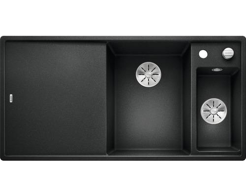 Spüle Blanco Axia III 6 S anthrazit Becken rechts inkl. Glasschneidbrett