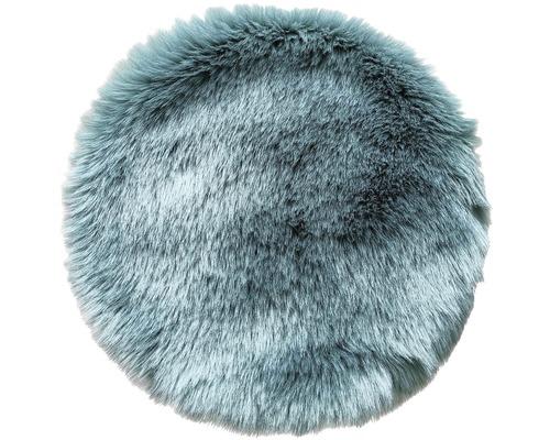 Sitzkissen Fell eukalyptus Ø 35 cm