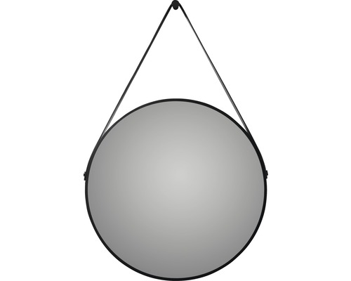 Rahmenspiegel DSK Black Belt matt Ø 60 cm
