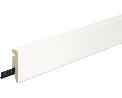 Sockelleiste FU62L Weiß 15x58x2400 mm
