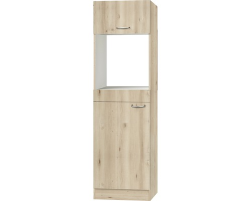 Umbauschrank Optifit Elba Edelbuche 60x206,8x57,1 cm