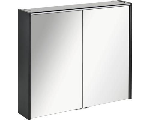 Spiegelschrank Fackelmann Denver Hype 3.0 80x68,5 cm 2-türig anthrazit