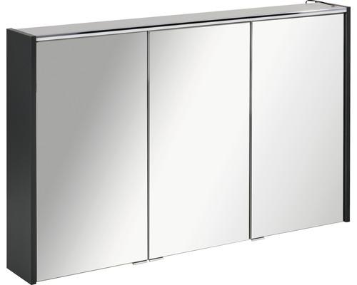 Spiegelschrank Fackelmann Denver Hype 3.0 110x68,5 cm 3-türig anthrazit