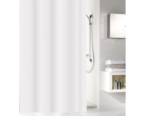 Duschvorhang PEVA Sparkle weiß 180x200 cm