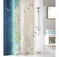 Duschvorhang Waikiki Textil multicolor 180x200 cm