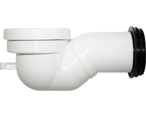 WC-Anschlussbogen Sanotechnik 90° weiß