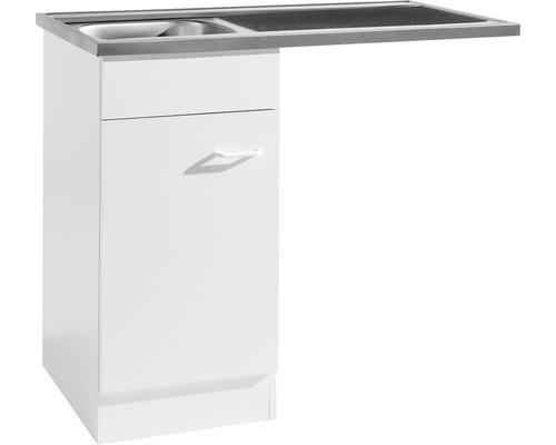 Spülzentrum Held Möbel 100x60 cm weiß