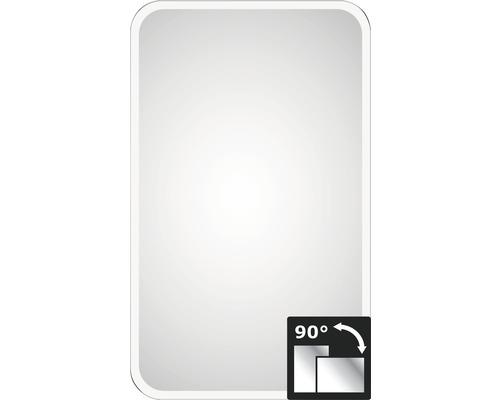 LED-Lichtspiegel DSK Christal Juno 45x75 cm